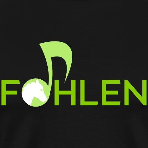 Musik Fohlen - Männer Premium T-Shirt