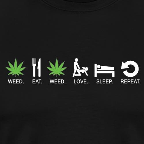 WEED - Maglietta Premium da uomo
