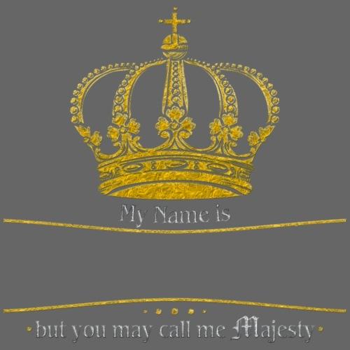 Royal Crown Call me Majesty gold - Männer Premium T-Shirt