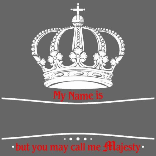 Royal Crown Call me Majesty weiss - Männer Premium T-Shirt
