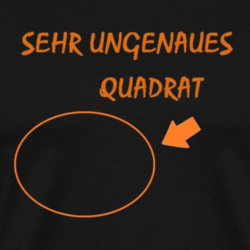 Sehr ungenaues Quadrat - Männer Premium T-Shirt