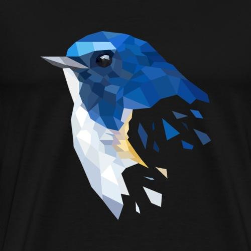 Geometric Bird - Männer Premium T-Shirt