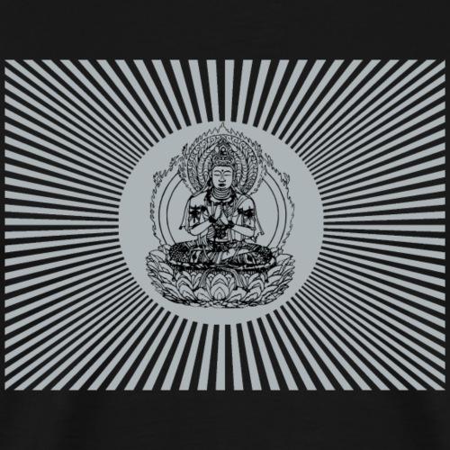 Buddha Erleuchtung Asia - Männer Premium T-Shirt