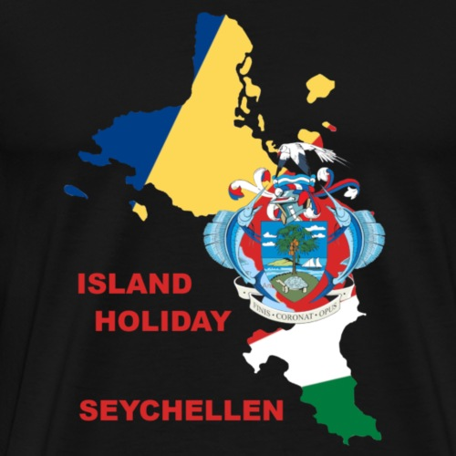 Seychellen Insel Urlaub Holiday - Männer Premium T-Shirt