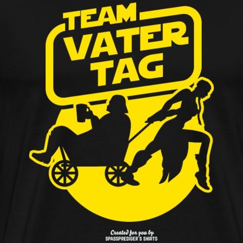 Vatertags T Shirt Team Vatertag - Männer Premium T-Shirt