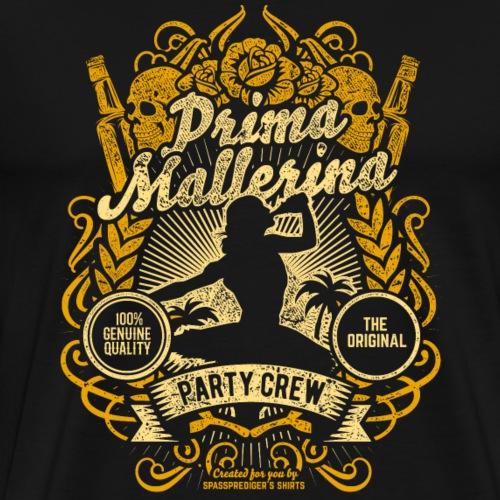 Mallorca Party Crew Design Prima Mallerina Sepia - Männer Premium T-Shirt
