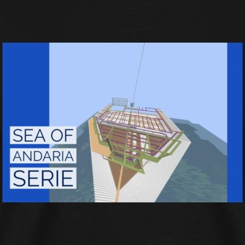 Sea of andaria collection - Premium-T-shirt herr