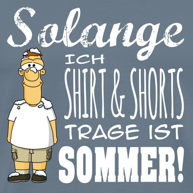 Sommer weiss