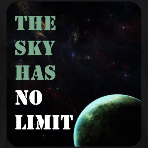 THE SKY HAS NO LIMIT - Männer Premium T-Shirt