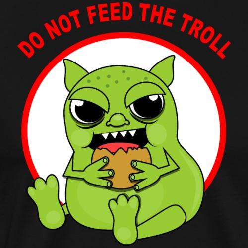 Troll - Koszulka męska Premium