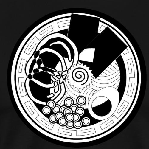 Japanese motif - Men's Premium T-Shirt