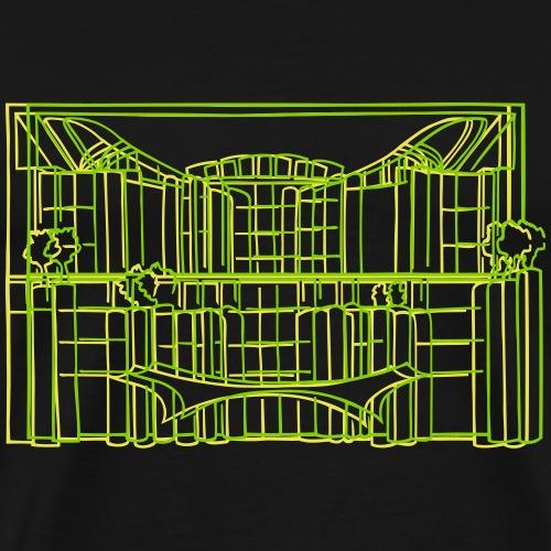 Kanzleramt in Berlin - Männer Premium T-Shirt
