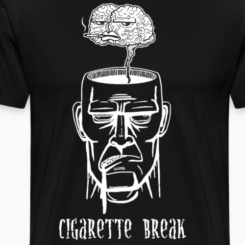 Cigarette Break - Männer Premium T-Shirt