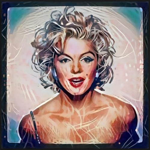 Marilyn Monroe - Maglietta Premium da uomo