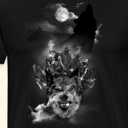 Bande de cowboys - T-shirt Premium Homme