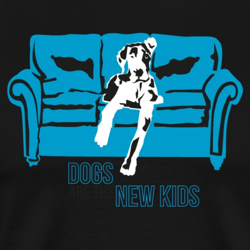 Dogs are the New Kids - Männer Premium T-Shirt