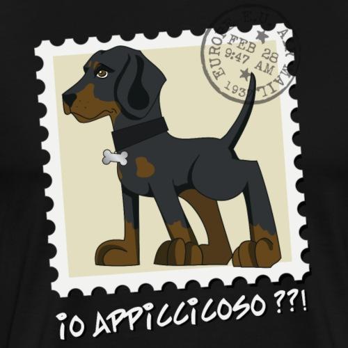 Dobermann francobollo 2 - Maglietta Premium da uomo
