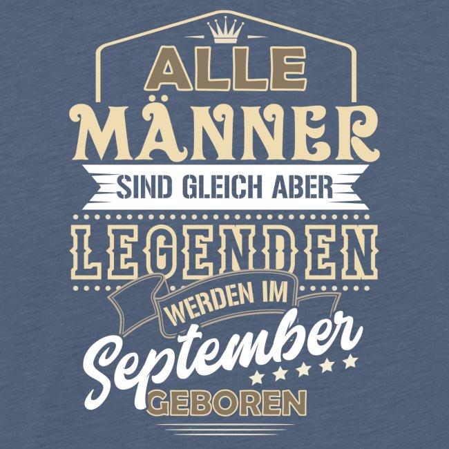Mann Männer Legende Geburtstag Geschenk September