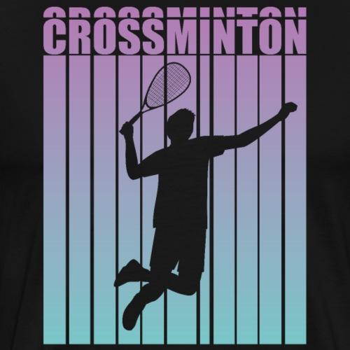 Crossminton - Speed badminton - Men's Premium T-Shirt