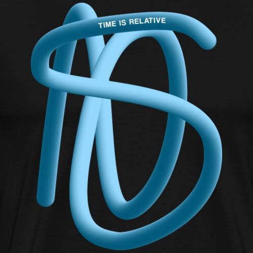 TIME IS RELATIVE - Men's Premium T-Shirt
