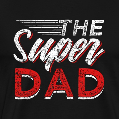 The Super Dad - Männer Premium T-Shirt