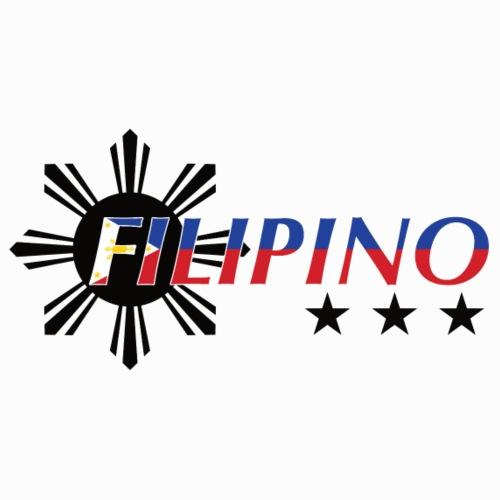 Filipino Flag Print Sun And Stars - Männer Premium T-Shirt