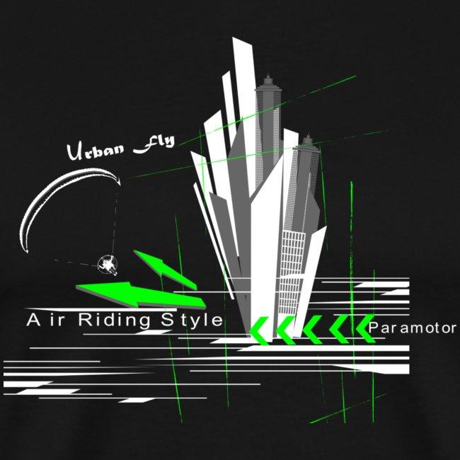 Libert'All Paramoteur Urban Fly Vert