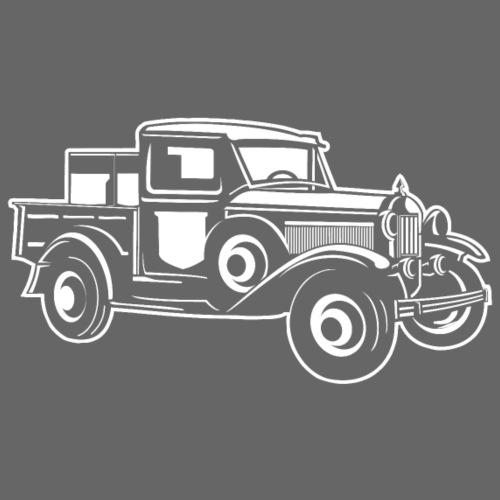 Pickup Oldtimer Truck 01_weiß - Männer Premium T-Shirt