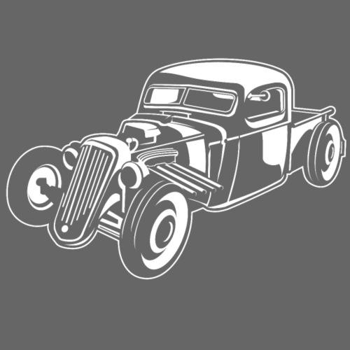 Hot Rod / Rat Rod 08_weiß - Männer Premium T-Shirt