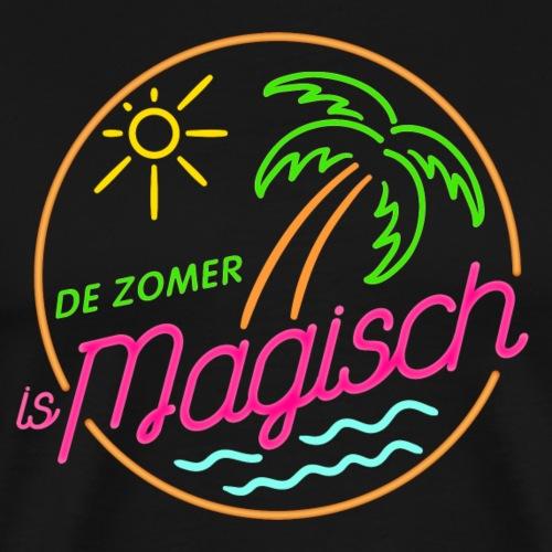 De Zomer is Magisch - Mannen Premium T-shirt