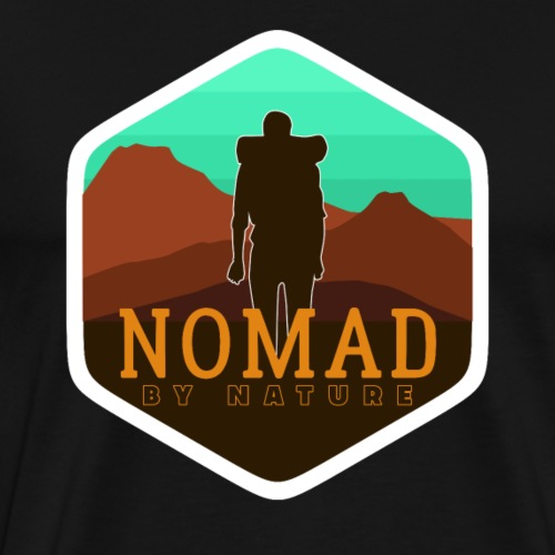 Nomad By Nature - Männer Premium T-Shirt