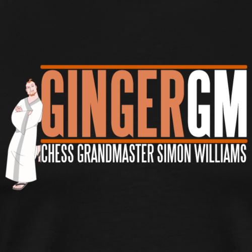 Ginger GM White Logo - Men's Premium T-Shirt