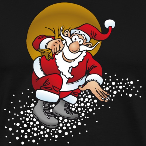 Weihnachten Weihnachtsmann - Männer Premium T-Shirt