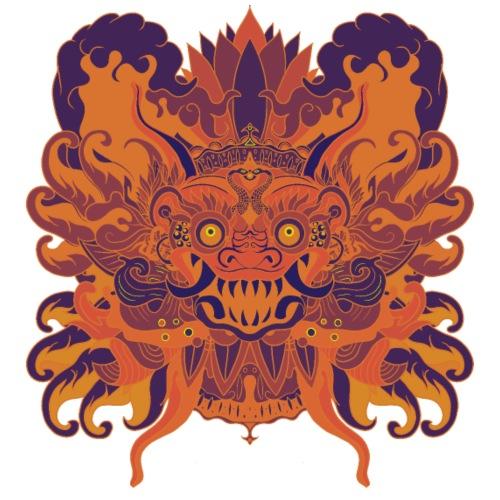 Orange Bali - Camiseta premium hombre