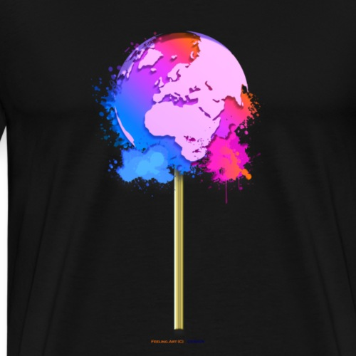 TShirt lollipop world
