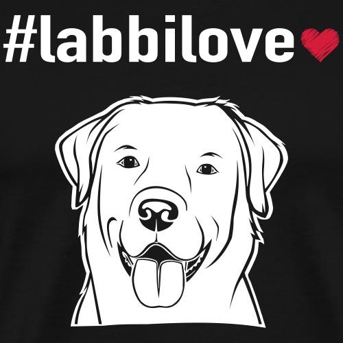 #labbilove - Männer Premium T-Shirt