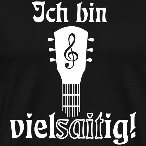 Gitarre Spielen Gitarrist Gitarrenspieler Spruch - Männer Premium T-Shirt