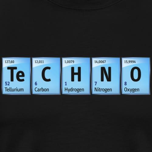Techno Beat Dance Music Industrial Minimal House - Men's Premium T-Shirt