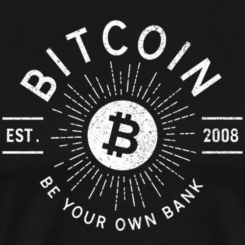 Bitcoin - Premium-T-shirt herr
