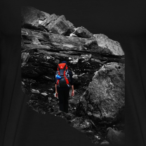 The hiker - Mannen Premium T-shirt