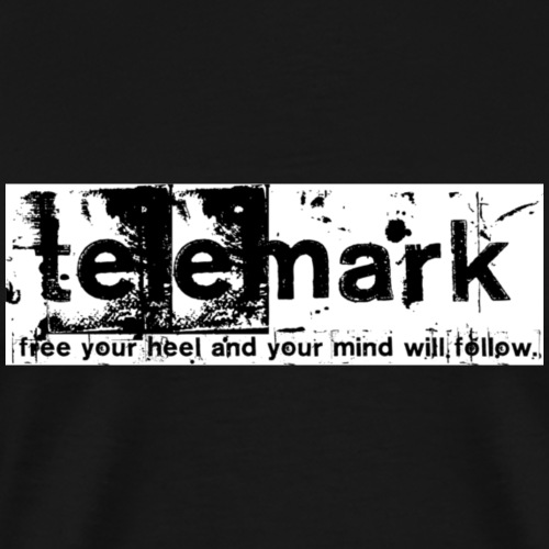 Print Free your heel and your mind will follow - Männer Premium T-Shirt