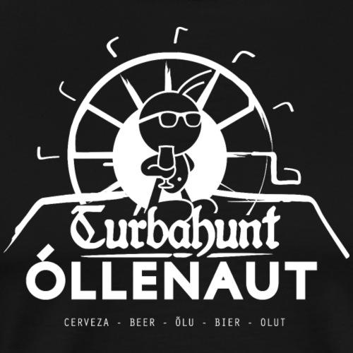 Õllenaut Turbahunt in white - Men's Premium T-Shirt