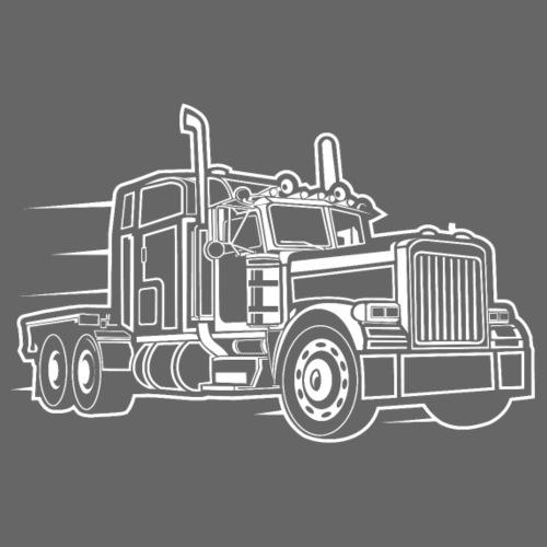 Truck / Lkw 03_weiß - Männer Premium T-Shirt