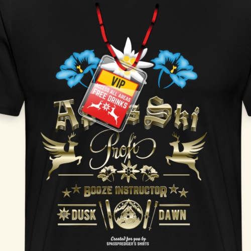Apres Ski Profi Booze Instructor - Männer Premium T-Shirt