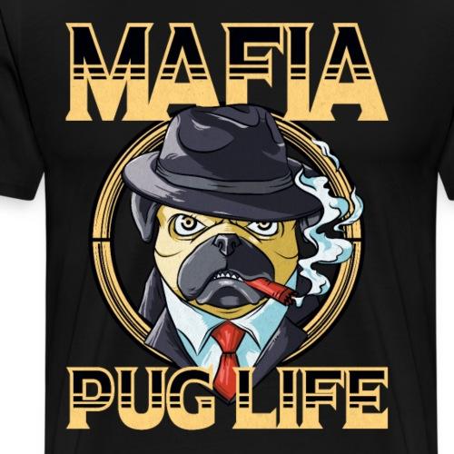 Mafia Pug Life - Männer Premium T-Shirt