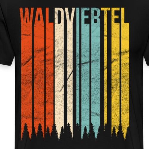 Waldviertel Retro - Männer Premium T-Shirt