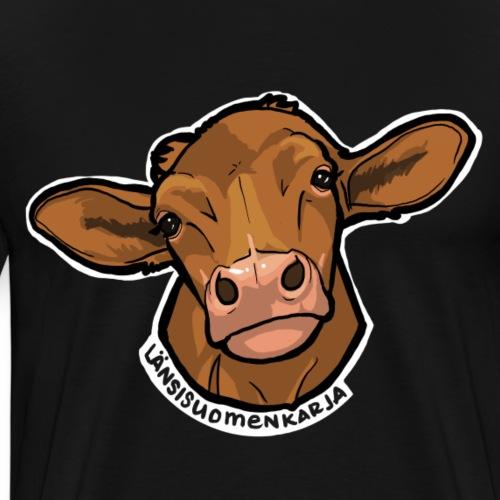 Länsisuomenkarja - Miesten premium t-paita