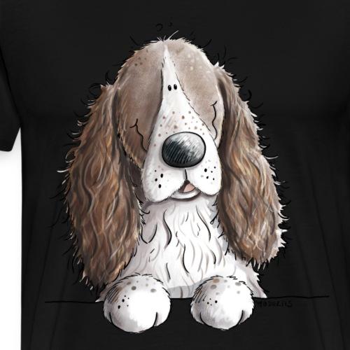 Englischer Springer Spaniel I Comic Hund Geschenk - Männer Premium T-Shirt