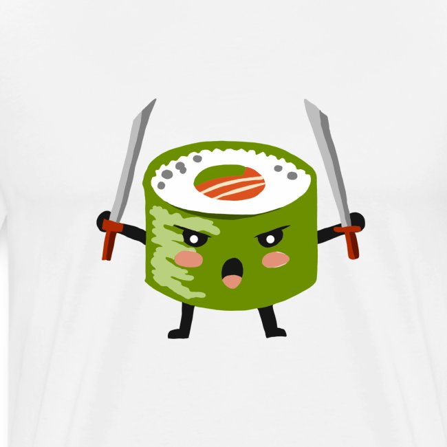 Sushi riso samurai ninja tutti i motivi