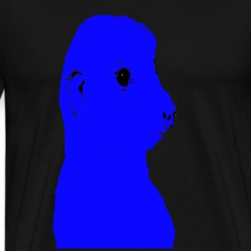 erdmaennchen blau - Männer Premium T-Shirt
